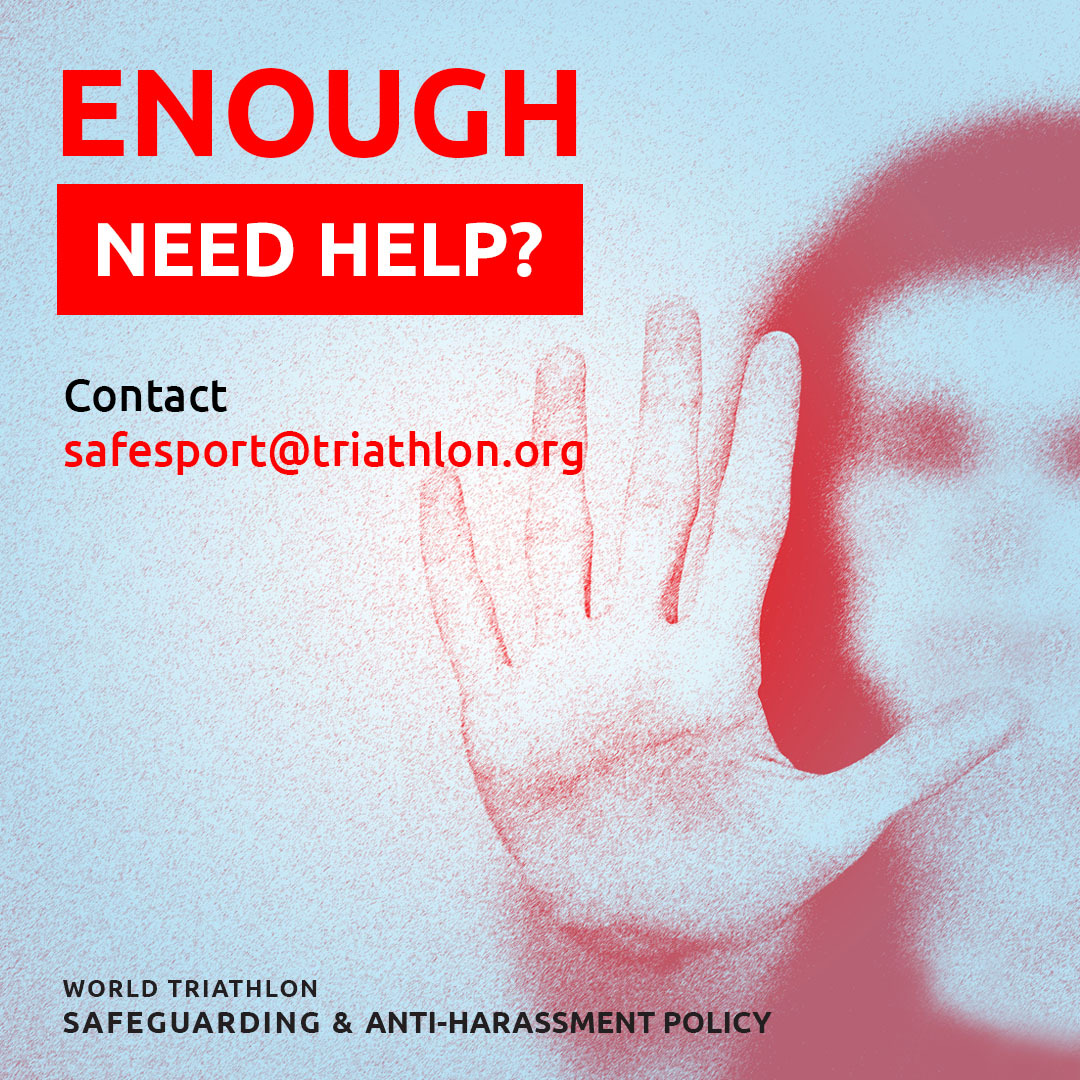 Enough need help - contact safesport@triahtlon.org